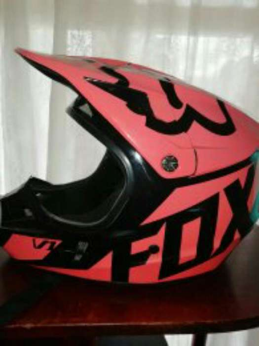 Casco Fox en Buen Estado 40000 Talla Xl.