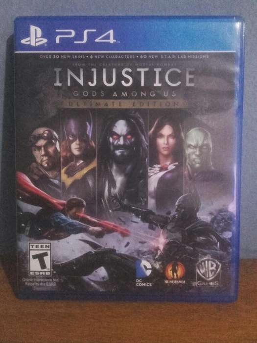 Injustice Complete Ps4 Impecable