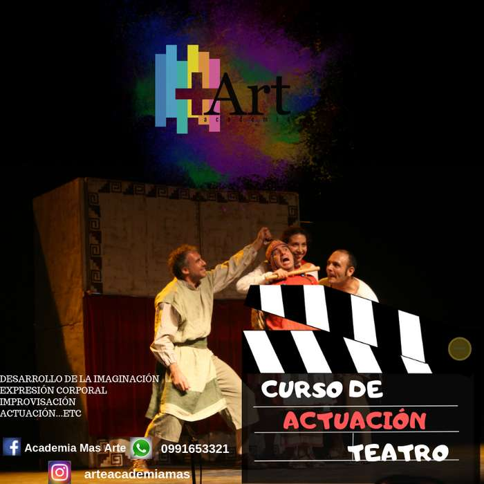 CURSO DE ACTUACION Y TEATRO PARA NIÑOS Y ADULTOS