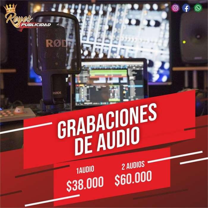 GRABACIONES DE AUDIO CUÑAS JINGLES LOCUTOR ANIMADOR GRABACIONES PUBLICIDAD AUDITIVA PROMOCION AUDIOS CONMUTADOR PBX