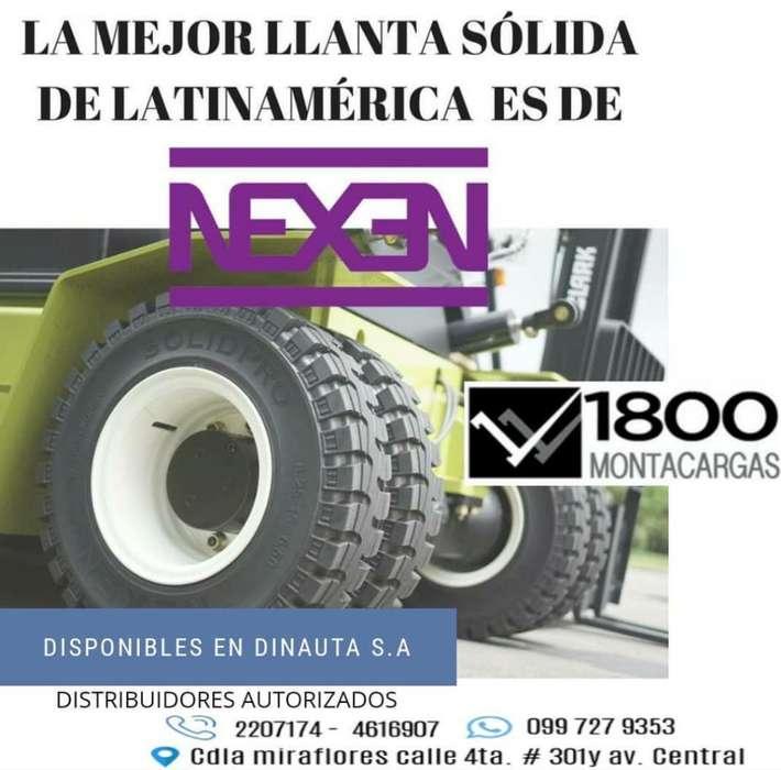<strong>llanta</strong>s Montacargas