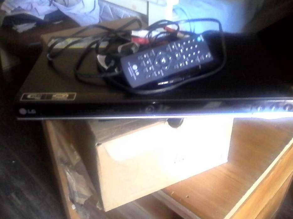 Dvd LG Usb Control Remoto Impecable Mod 452