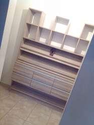 interiores vestidores placar cocinas carpintería rack pisos de madera