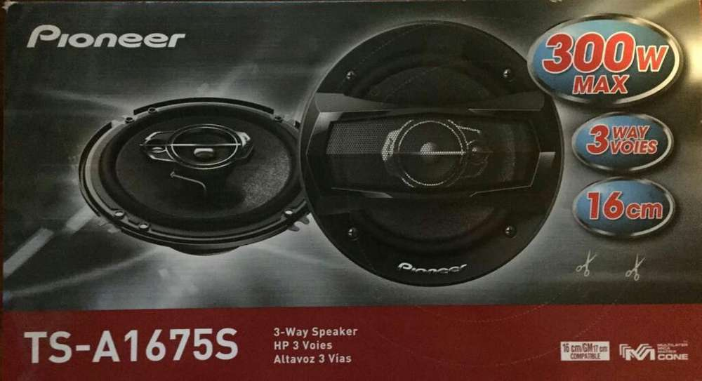 <strong>parlantes</strong> Nuevos Pioneer