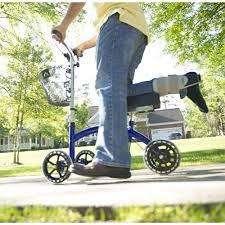 importado scooter para lesion o fractura de tobillo o pie mas comodo que las muletas