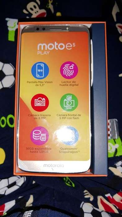 Celular Motorola E5 Play Nuevo