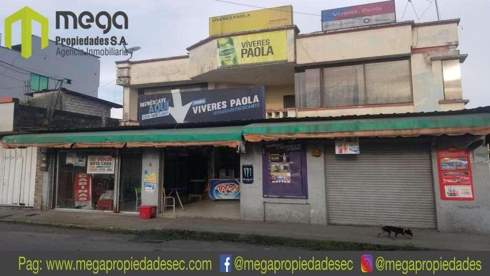Vendo casa comercial, Santo Domingo