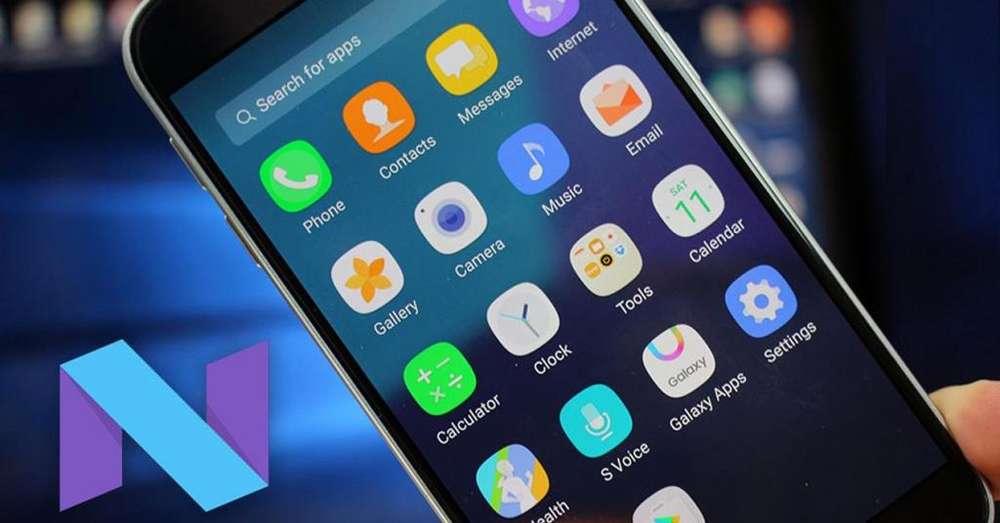Actualizacion Android Nougat 7.0 Samsug S7 Y S7 Edge,Samsung S6,S6 Edge y S6 Edge Plus,Samsung Note 5