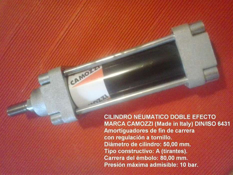 Cilindro neumático Camozzi. Diámetro 50 x Carrera 80