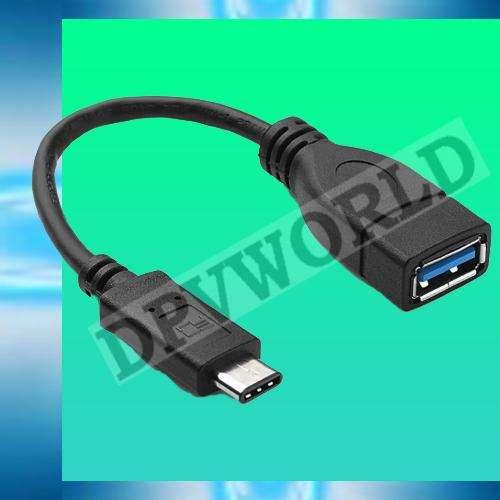 Cable OTG Tipo C 3.1 a USB Hembra Nexus Macbook Chromebook