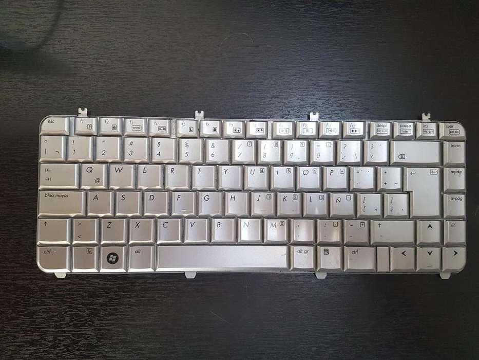 teclado para portátil hp dv51000 plata Modelo: QT6A