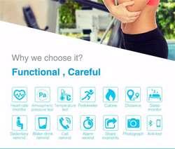 Brazalete o Pulsera Inteligente Bluetooth, Monitor Cardiaco, Smart Watch, Colors, Nuevas, Garantizadas…