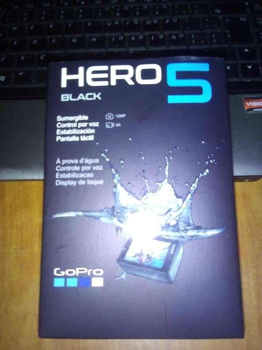 Camara GoPro Hero 5 Black 4k