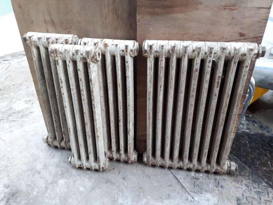 <strong>radiadores</strong> de Fundición Lote de 4