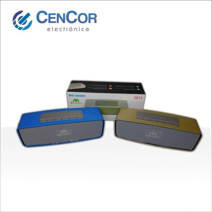 Parlante Recargable Con Bluetooth/usb/aux/micro Sd! CenCor Electrónica