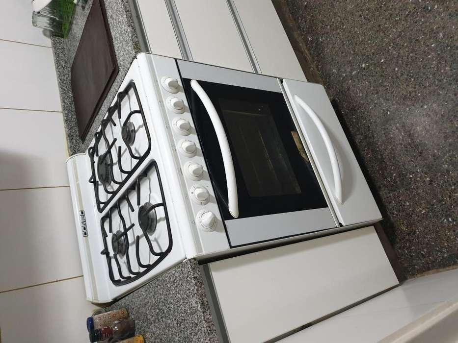 Cocina Domec Cbuplev Blanca 56cm