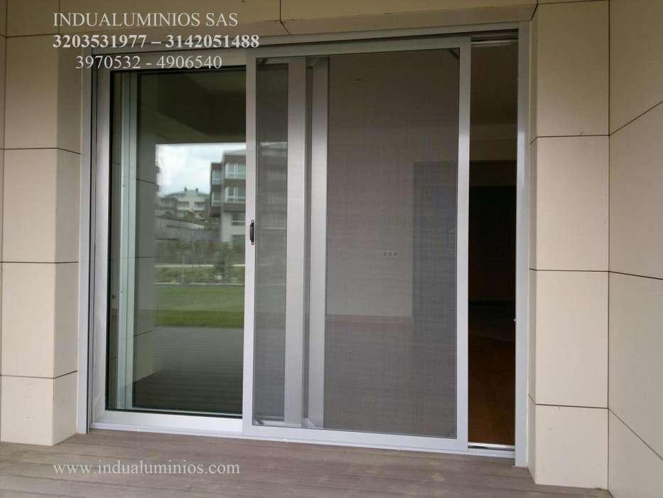 Anjeos, Mosquiteros, Ventaneria en Aluminio - Somos Fabricantes