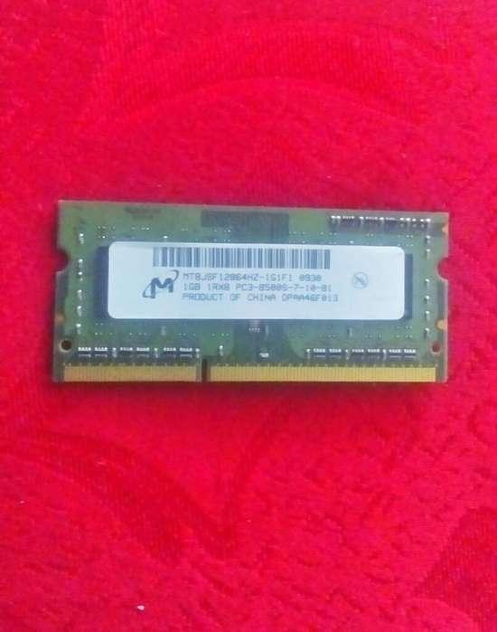 Memoria Ram 1gb para Laptop