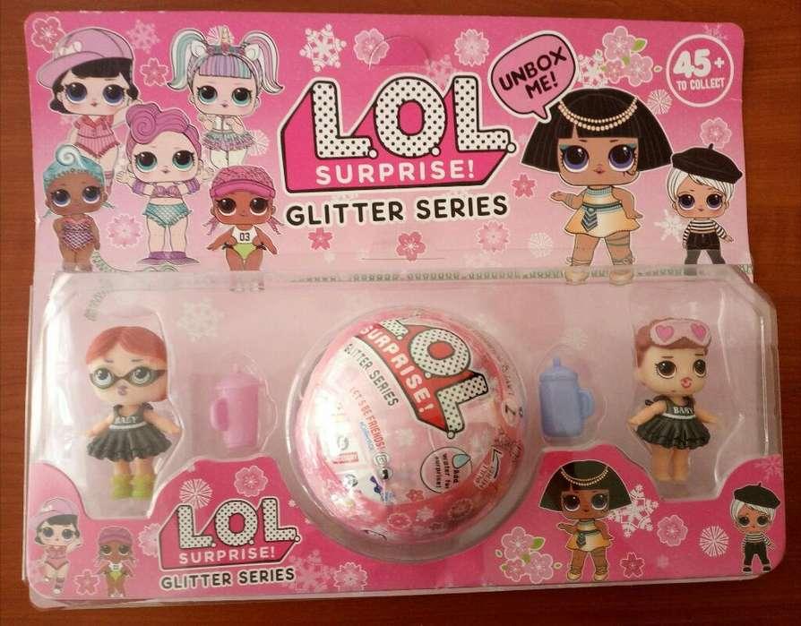 Muñecas Glitter Lol Surprise