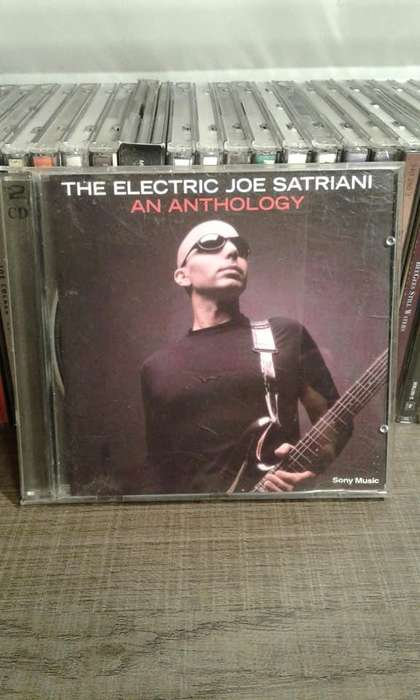 joe satriani an anthology 2 cd