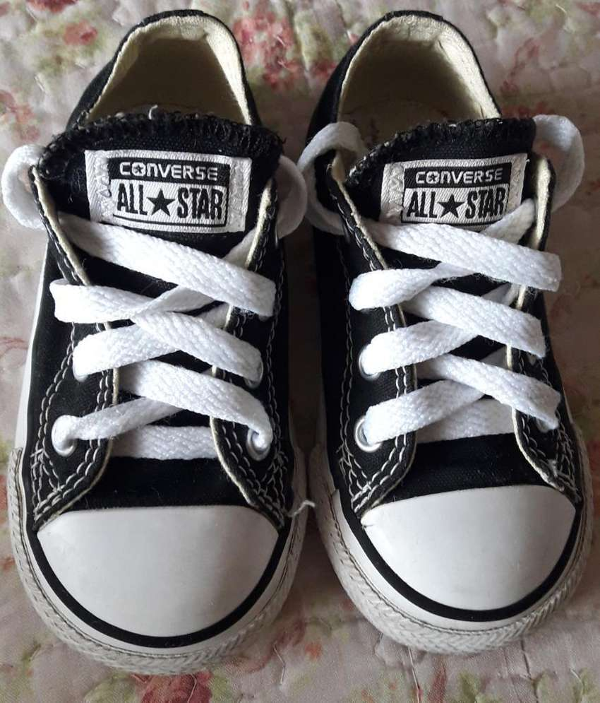 converse all star negras unisex