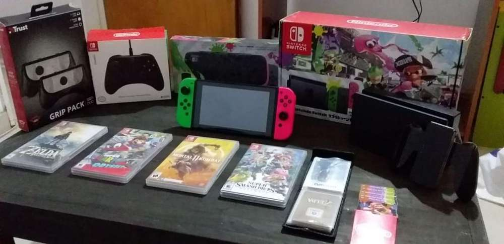 Nintendo Switch La Mas Completa