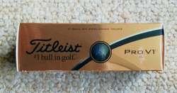 GOLF bolas nuevas en caja x 3 made USA calidad