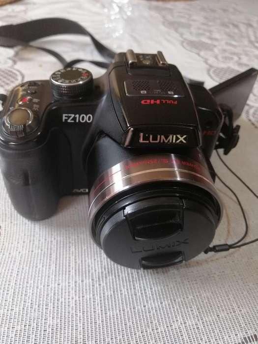 Camara Panasonic Lumix Fz 100 Como Nueva