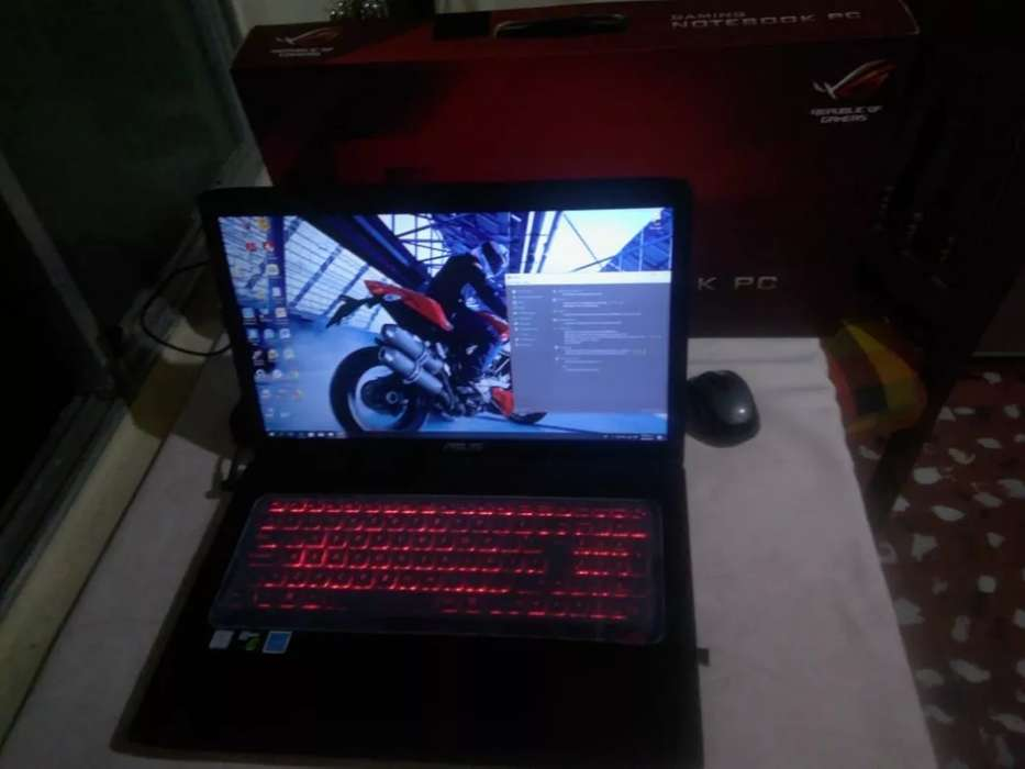 Gamer Asus ROG GL752VW Intel Core I7_6700hq Nvidia 4Gb [FHD IPS 17.3''] Bluray Ram 8Gb