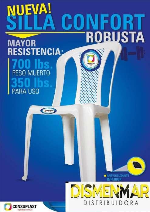 Sillas Plasticas Resistentes por Mayor