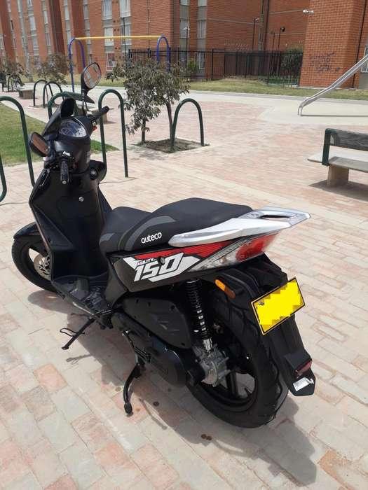 MOTO SCOOTER AUTECO KYMCO 150 MOD 2020