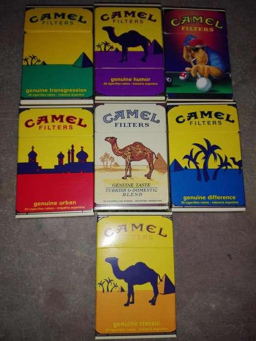 CAJAS CAMEL COLECCIONABLES