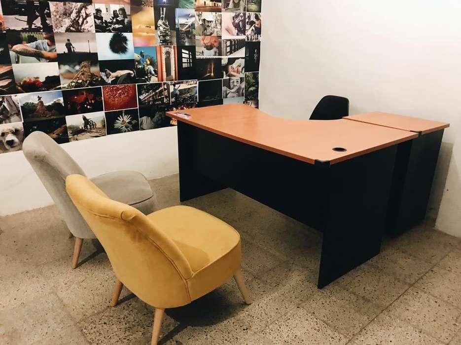 Vendo <strong>escritorio</strong> en L. Mesa de Trabajo