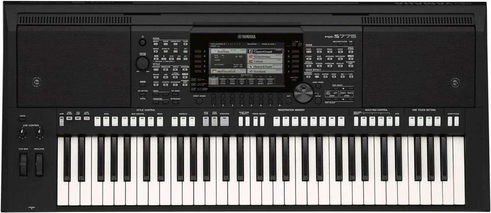 TECLADO ORGANO ELECTRONIC PIANO YAMAHA PSR S775 USB PROFESIONAL NUEVO , X MAYOR.....994 086 779