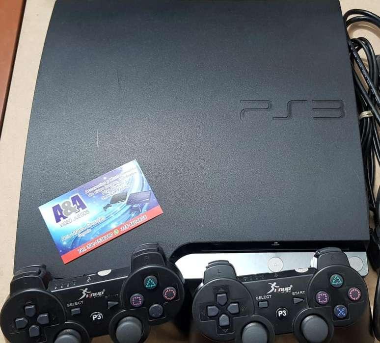 Play 3 Slim 320gb 40 Juegos Digitales