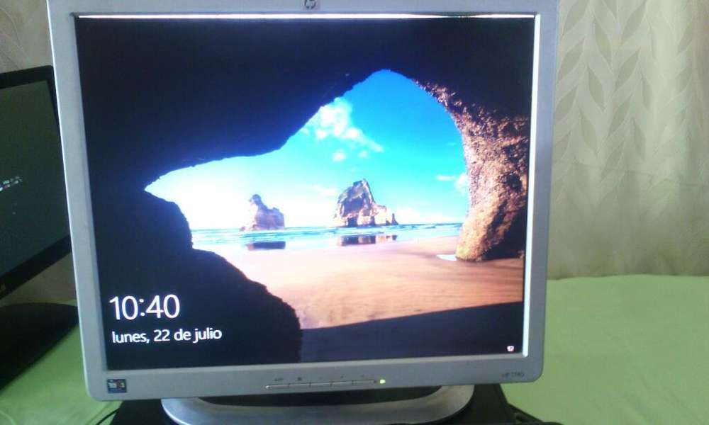 Monitor Hp 17 Pul Pequeña Luz Arriva