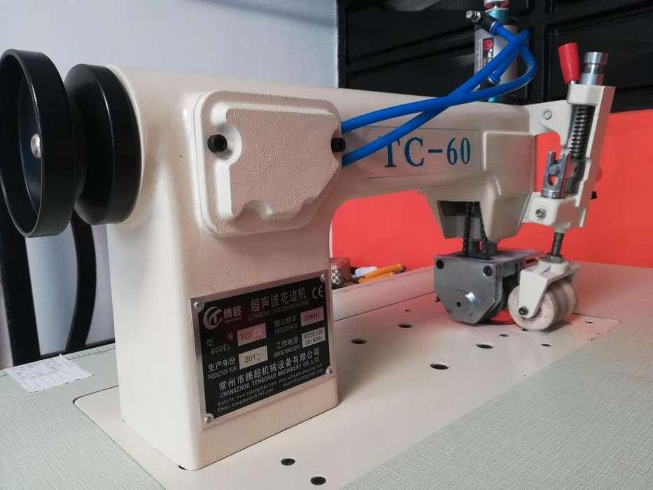 Montaje completo maquinas fabricación bolsa ecológica