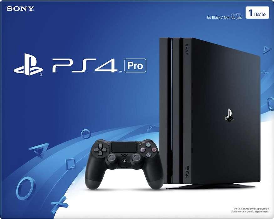 PS4 Pro 1TB Como Nueva