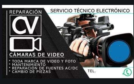 Cámaras de Video Reparación y Mantenimiento.