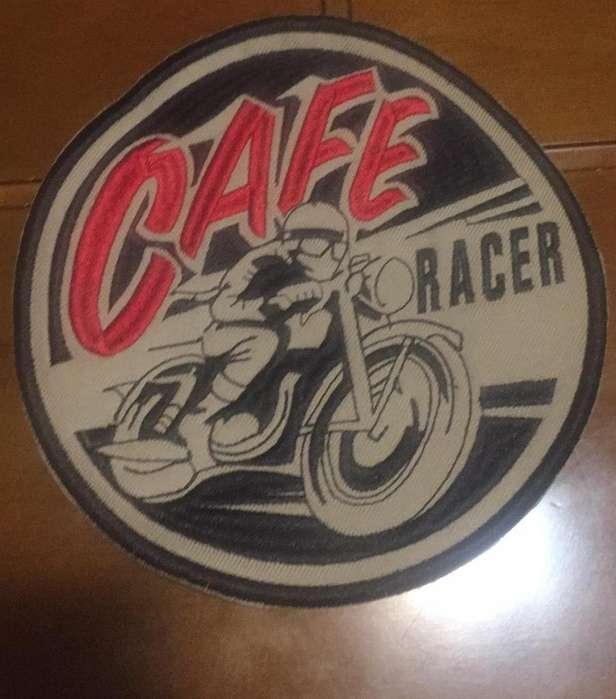 Parche Chaqueta Cafe Racer 19 Cms