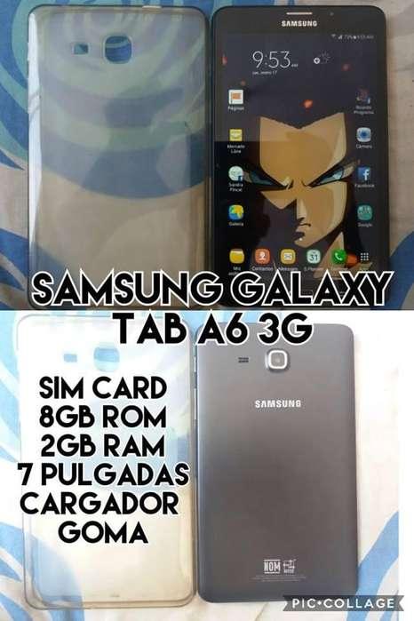 samsung galaxy tab a6 7 pulgadas SIM CARD venta cambio