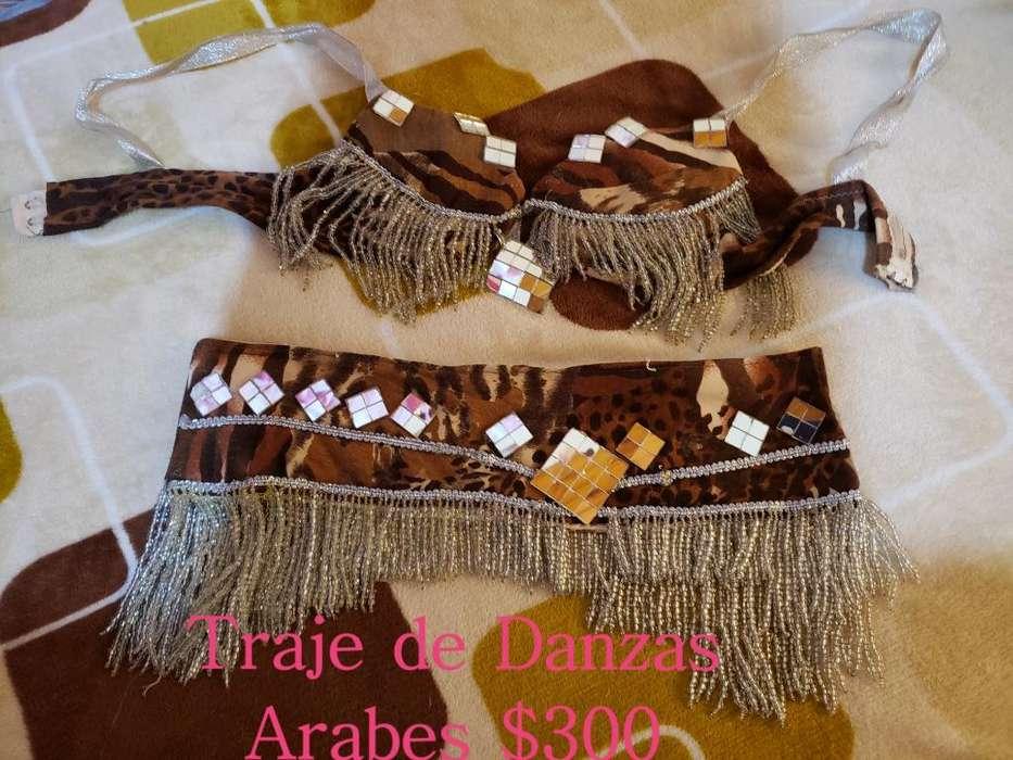 <strong>traje</strong> de Danzas Arabes