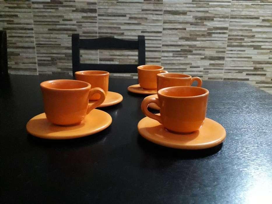 <strong>juego</strong> de Tazas de Cafe