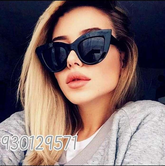Lentes gafas de sol para mujer retro ojos de gato cat eye, montura gruesa UV400