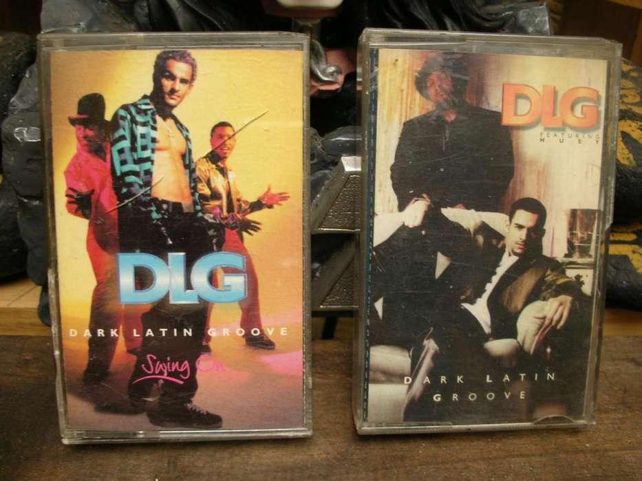 Cassette Cassett Caseto Tape Cinta Grabadora Dark Latin Groove DLG