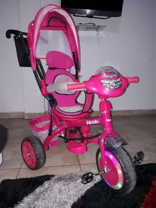 Hermoso Triciclo Infantil