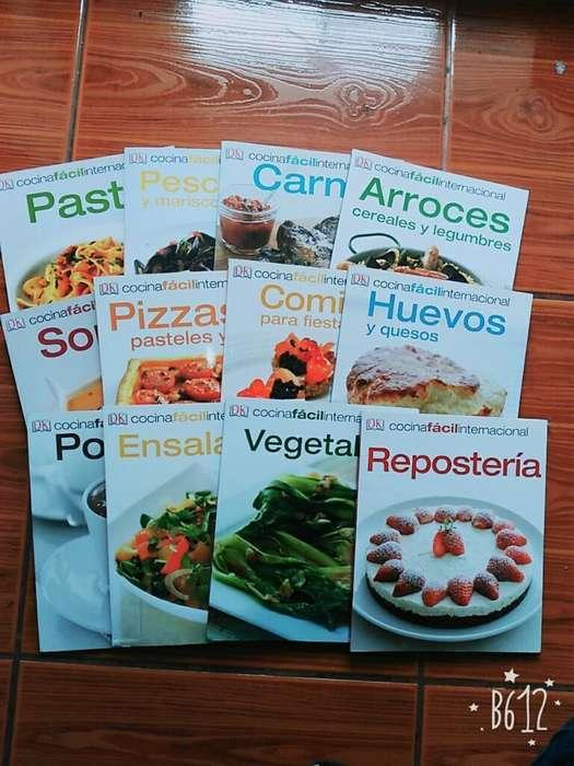 Colección Libros Cocina