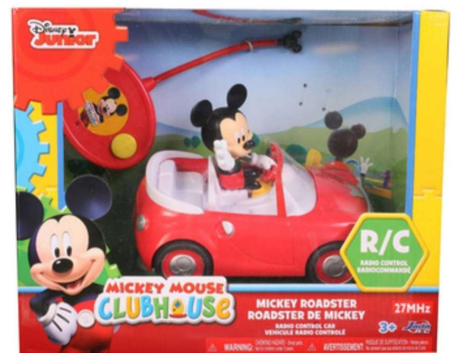 Carro Control Remoto Mickey Mouse