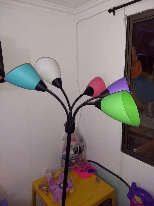 Lampara Multicolor