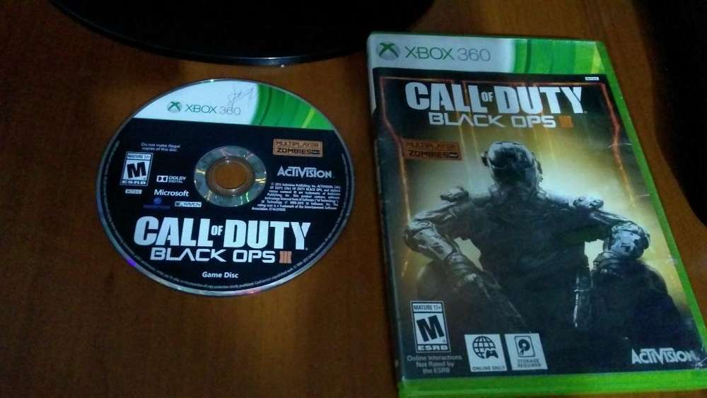 Call Of Duty Black Ops Lll Xbox 360